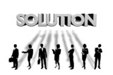 business solution poster