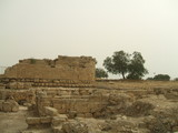 Ruins of ancient /historical place/building in Caesarea poster