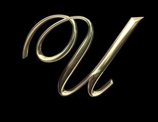 lettera u