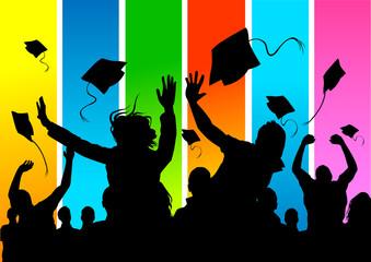 happy graduate students!