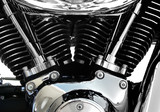 motorcycle engine chrome