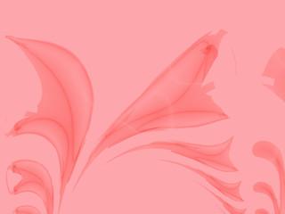 Delicate pink leaf