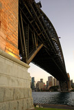 harbour bridge pillar poster