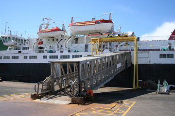 ferry with gangway
