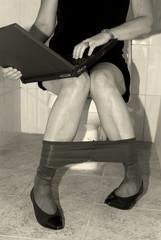 busy woman executive