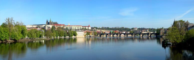 view at charles bridge