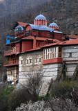 orthodox monastery poster