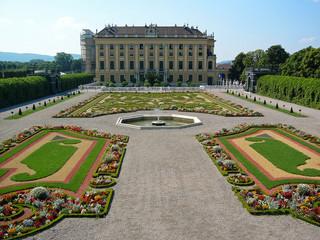 jardin princier du château de schönbrunn