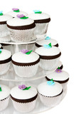 fancy cup cakes poster