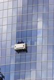 skyscraper windows washers poster
