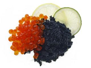 beluga und lachs caviar