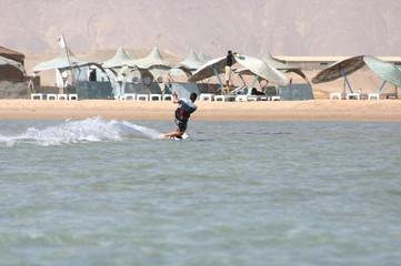 kitesurfing elgouna egipt