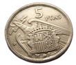 5 ptas coin