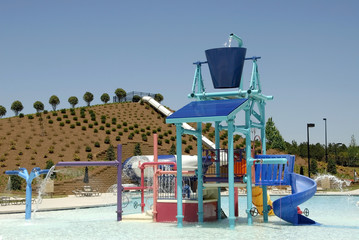 waterpark playground