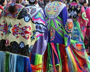 women shawl dancers