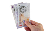 pounds sterling payment poster