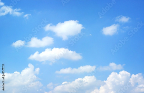 beautiful summer clouds - 3307121