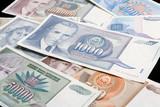 yugoslavian banknotes poster