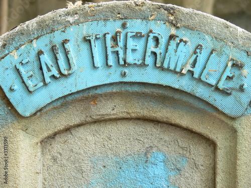 Papiers peints Fontaine eaux thermales
