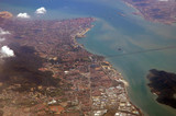 malaysia, penang: aerial view poster