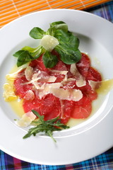 carpaccio made from sirloin