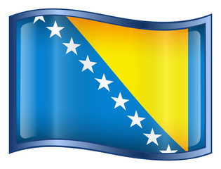 bosnia and herzegovina flag icon.