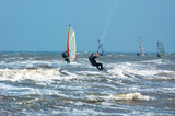 kite and wind surfing poster