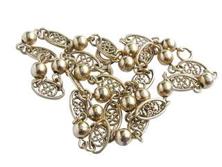 1213 - collier en or (détourage inclus)