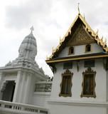 beautiful building at the grand palace, bangkok, thailand. poster