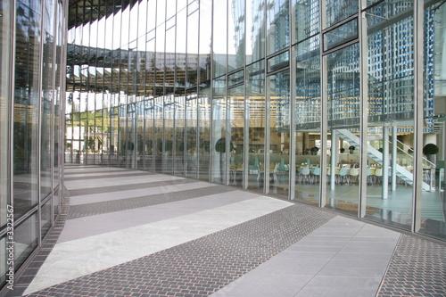Leinwanddruck Bild glasfassade tower bonn