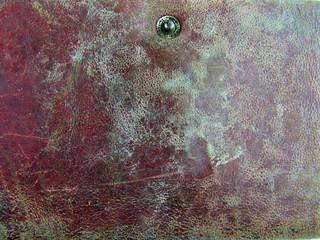 1237 - texture vieux cuir rouge