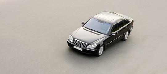 luxury, power and wealth: mercedes benz isolated o