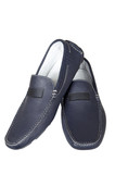 dark blue low shoes poster
