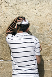 pray at a western wall