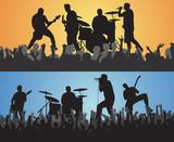 trippy concert poster