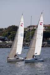 two sailboats 2