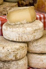 fromages sur le marché