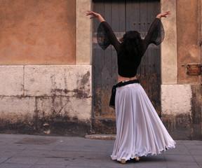 north african dancer