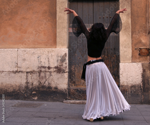 north african dancer