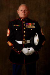 old marine veteran
