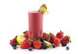 Fototapety berry smoothie
