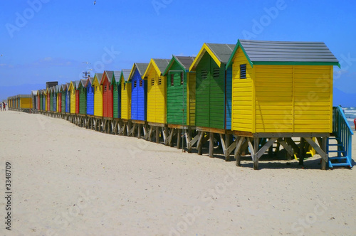 beachfront huts