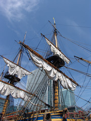 Sailship in London