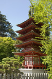 the buddhist pagoda or