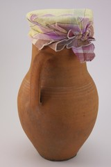 jug with shawl