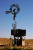 ranch windmill poster
