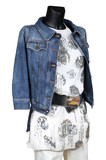 jeans jacket and dress poster