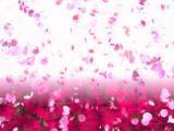 Fototapete Rosa - Falling star - Hintergrund