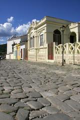 goias velho cobblestone street