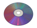 bytes on computer cd poster